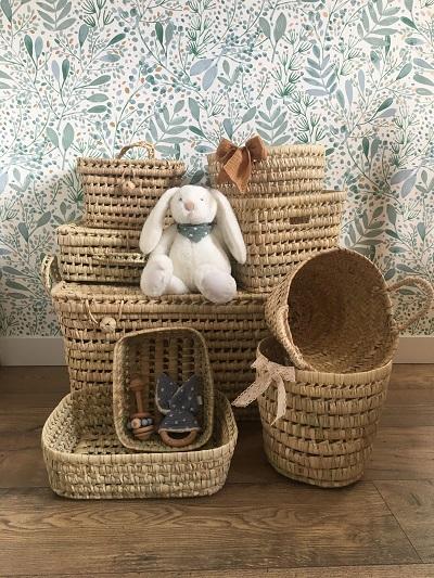 decoration bebe chambre panier - bonheur enfantin