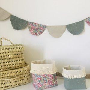 fanion decoration chambre - bonheur enfantin